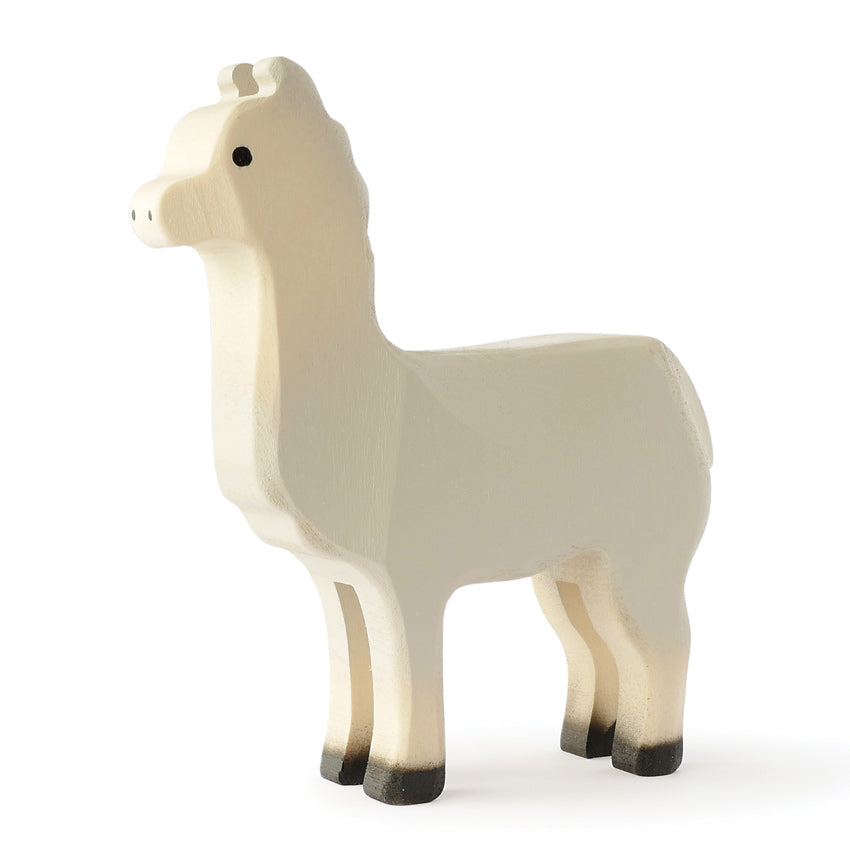 Trauffer Wooden Large Llama Toy