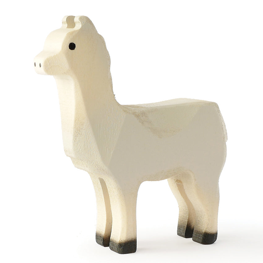 Trauffer Small Wooden Llama toy
