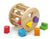 Viga wooden shape sorting wheel