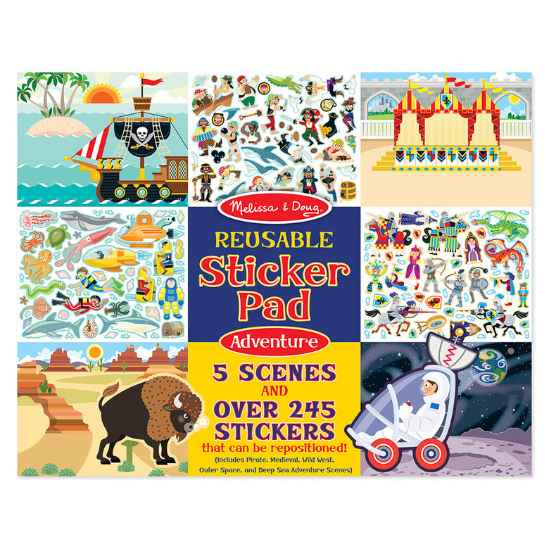 Melissa And Doug - Reusable Stickers Adventure