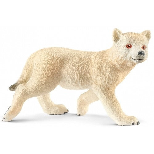 Schleich 14804 Arctic Wolf Club available at Little Sprout. NEW in 2018!