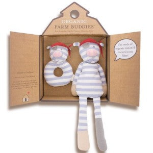 Organic Farm Buddies - Pirate Pig Organic Gift Set