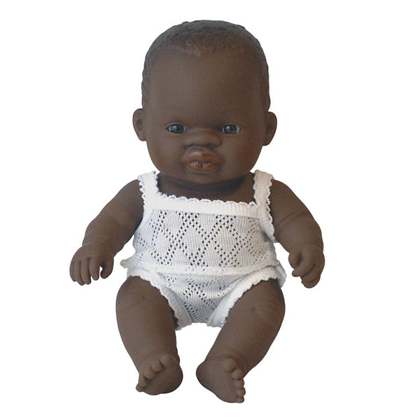 Miniland African Girl Doll 21cm in box