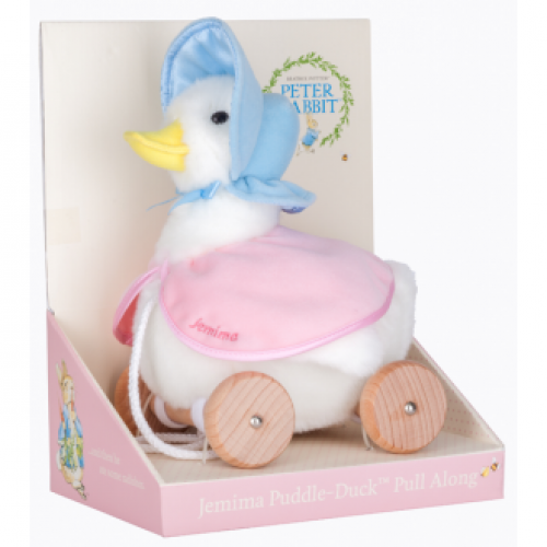 Jemima Puddleduck Pull Along Duck toy