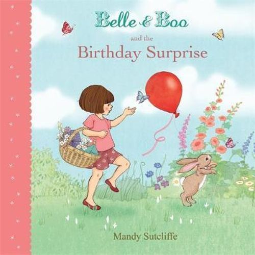 Belle and Boo and the Birthday Surprise paperback book