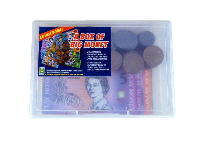 Big Box of Australia Money