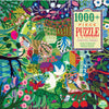 Eeboo - Bountiful Garden Puzzle 1008pc