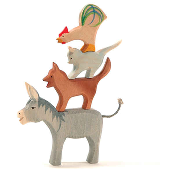 Ostheimer Bremer wooden Dog toy available at Little Sprout