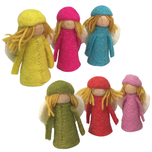 Papoose Bright Elves Set of 6 at Little Sprout