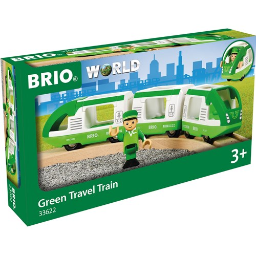 Brio 33622 Green Travel Train in box at Little Sprout