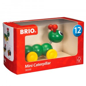 Brio 30330 Mini Wooden Caterpillar