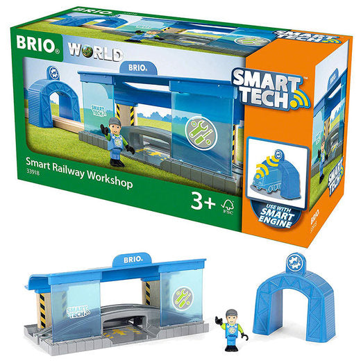 Brio 33918 Smart Railway Workshop at Little Sprout