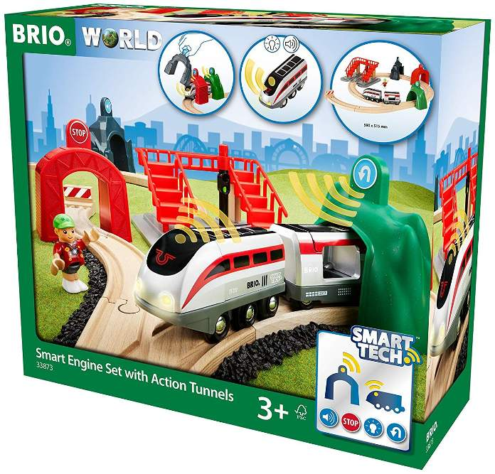 Brio 33873 Smart Engine Set with Action Tunnels box