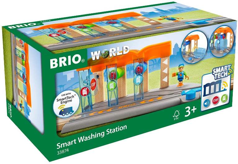 Brio 33874 Smart Washing Station in box at Little Sprout