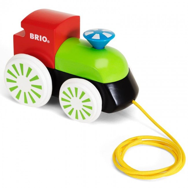 Brio 30240- Pull Along Engine Coloured