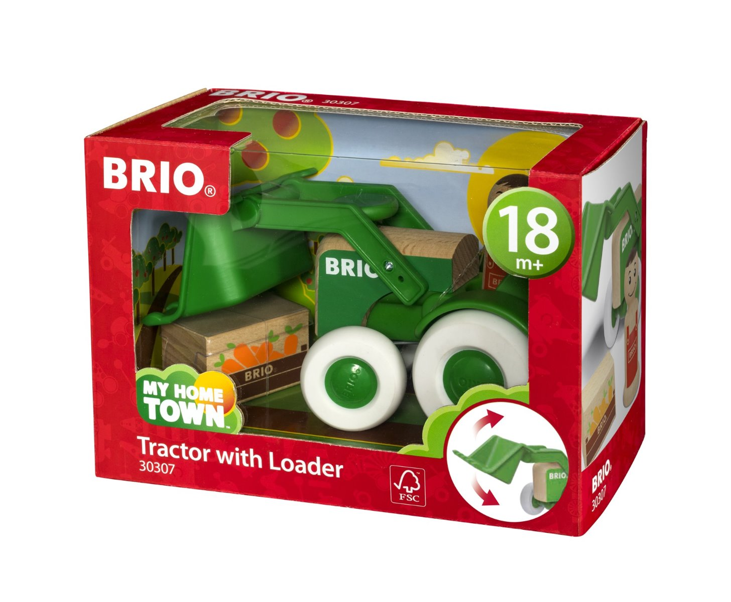 Brio 30307 Tractor with Loader available at Little Sprout