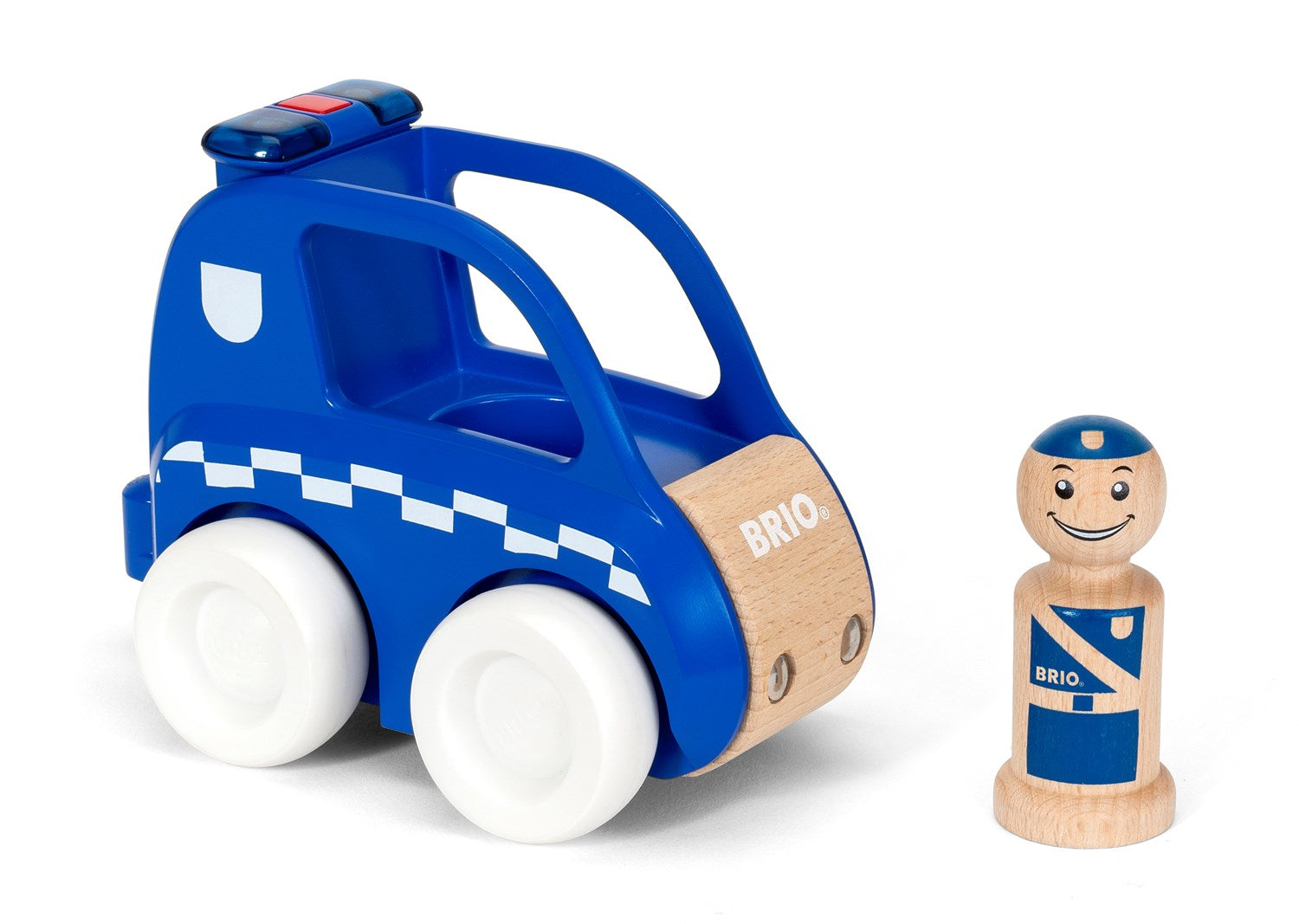 Brio 30377 - Light And Sound Police Car