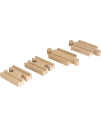 Brio 33393 - Mini Straight Track Pack