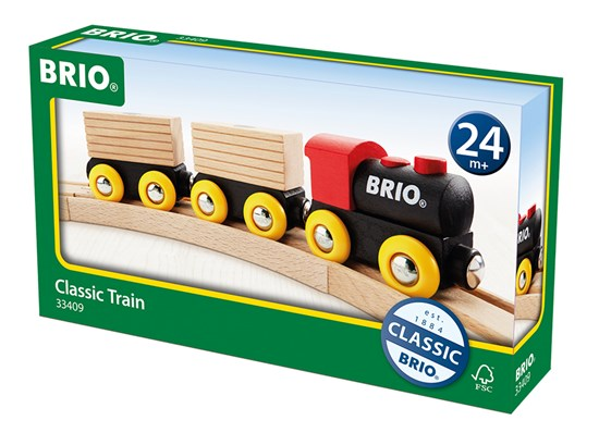 Brio 33409 Classic Wooden Train Set