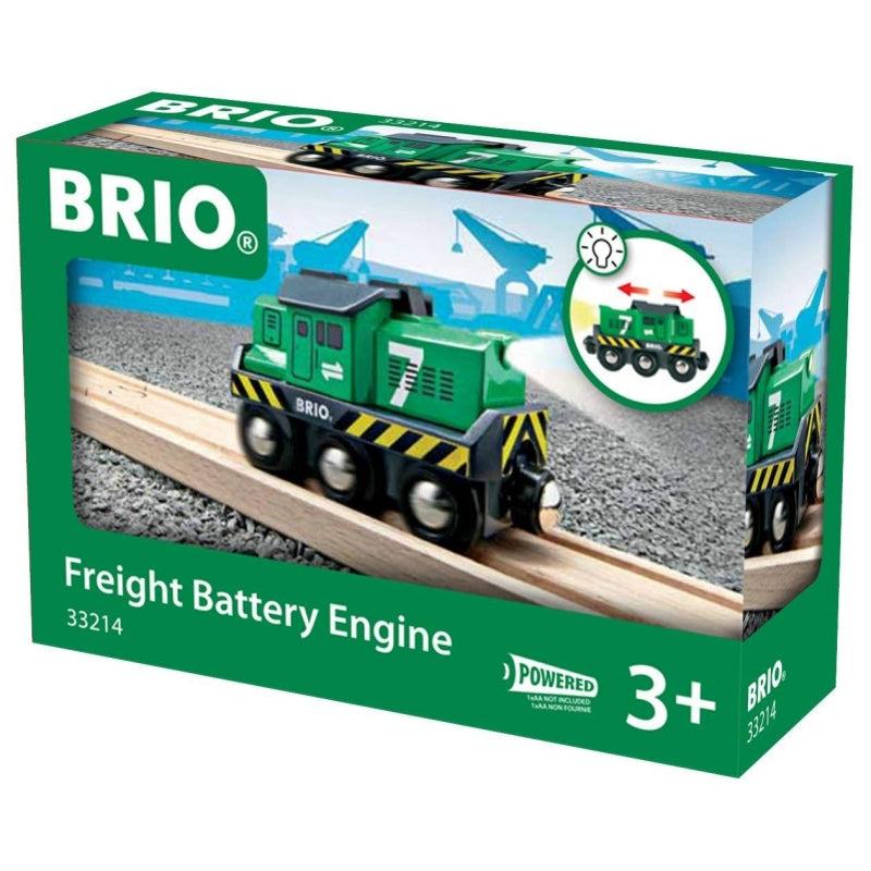Brio 33214 Freight Battery Engine in box at Little Sprout