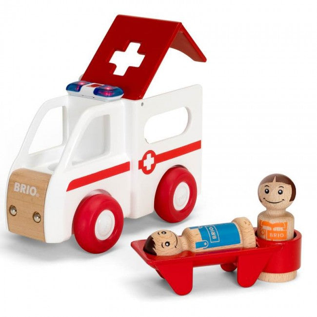 Brio 30381 - Light And Sound Ambulance