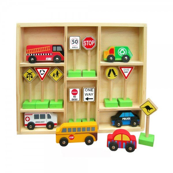 Fun Factory - Cars and Traffic Signs
