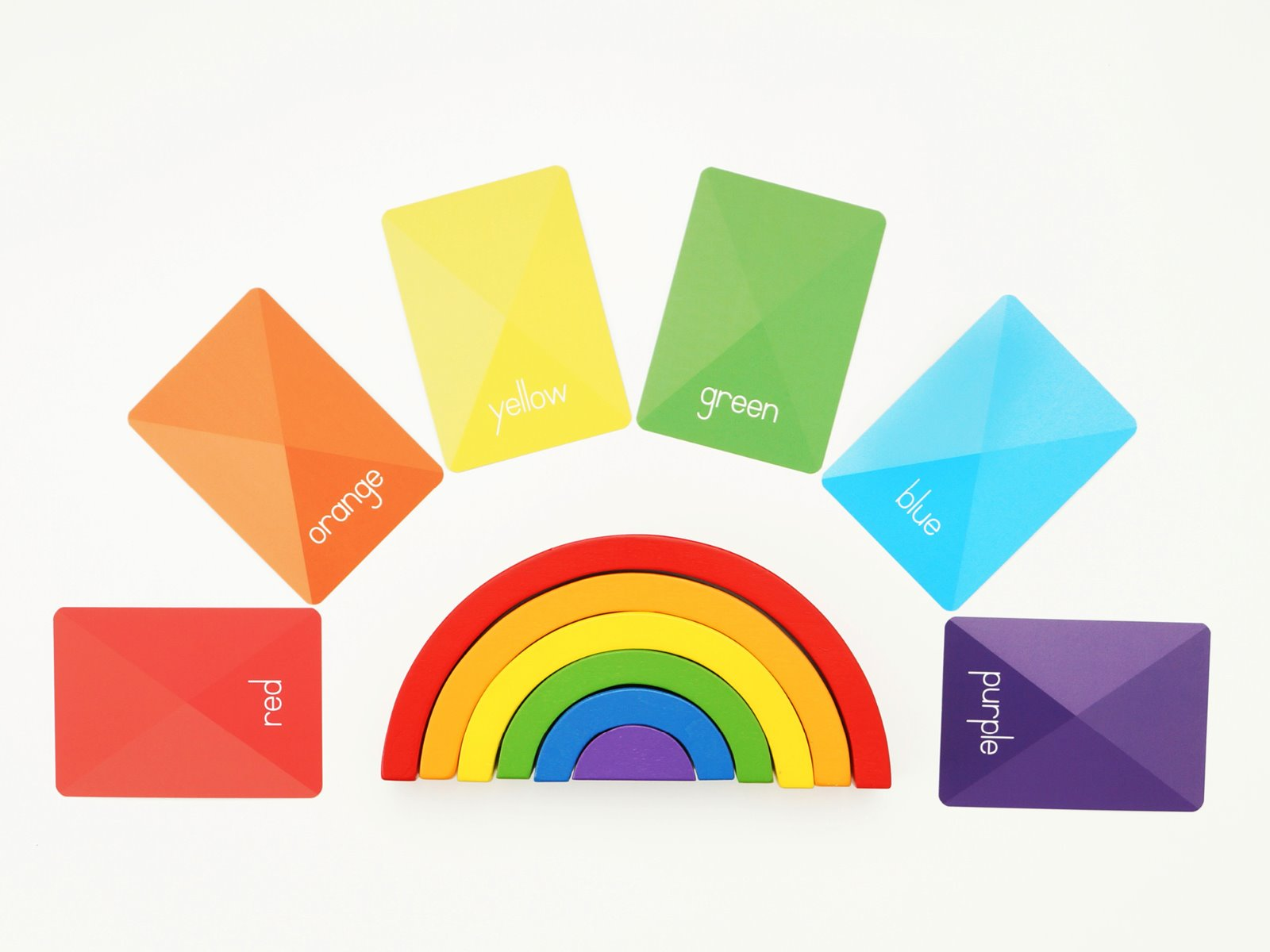 Alpha Baby Designs Colours and Shapes Flashcards at Little Sprout