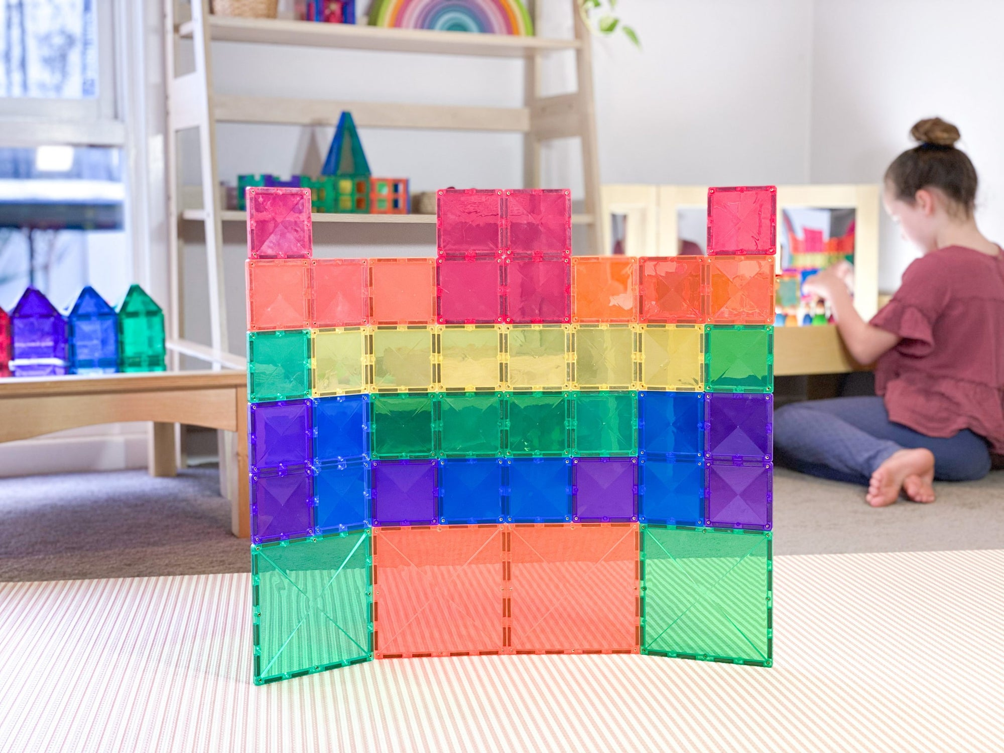 Connetix Magnetic Tiles 40 Piece Expansion Pack