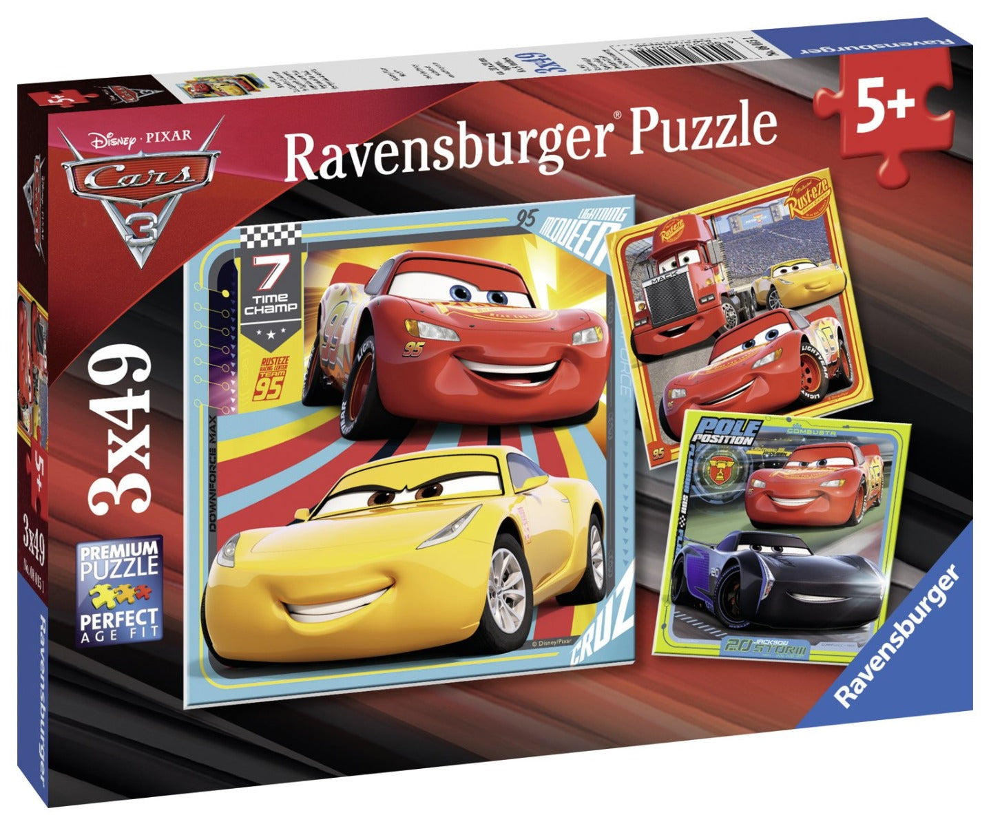 Ravensburger Legends of the Track set of 3 puzzles