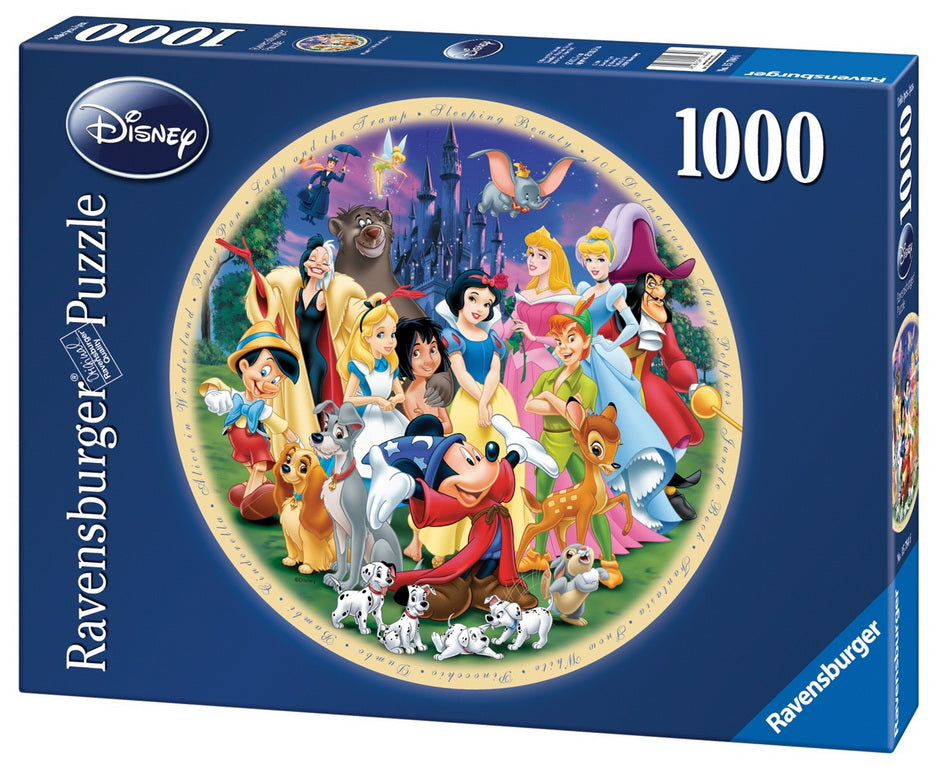 Ravensburger Disney Wonderful World Puzzle 1000 Pieces