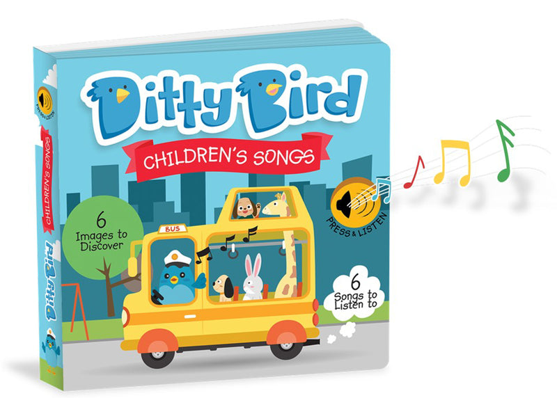 Ditty Bird Children's Songs Book at Little Sprout