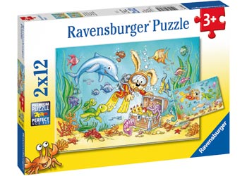 Ravensburger Diving Puzzles 2 x 12 pieces