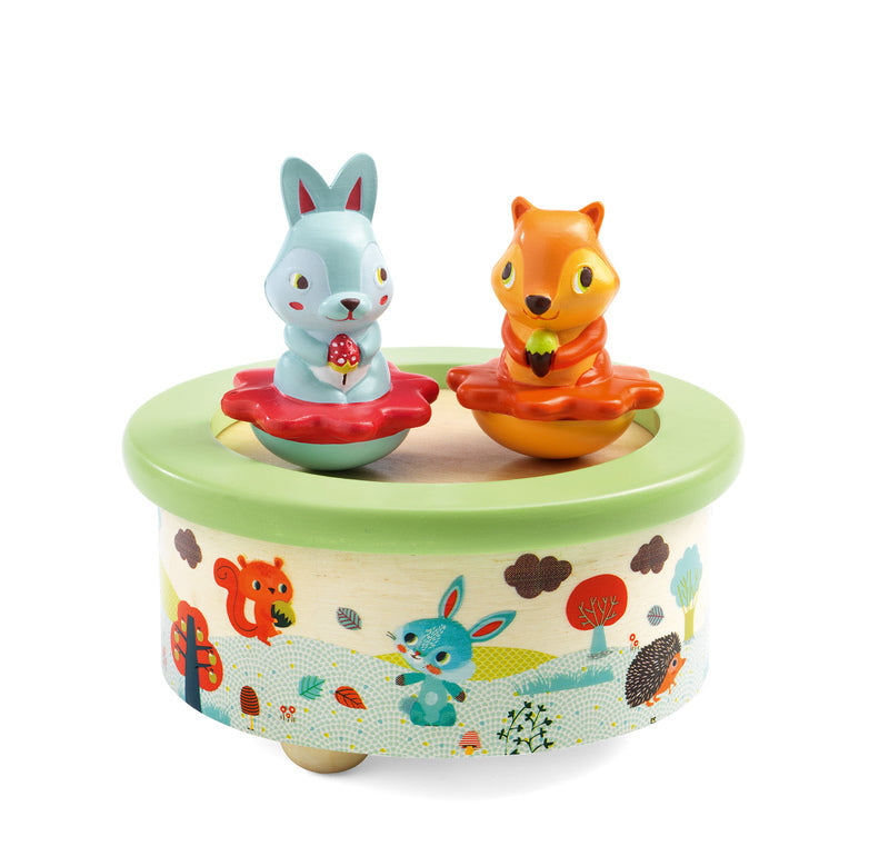 Djeco Magnetic Friends Musical Melody Box available at Little Sprout