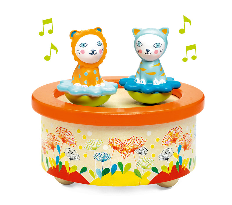 Djeco Musical Box Twins available at Little Sprout