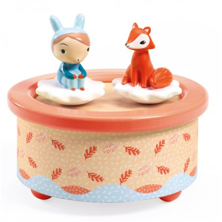 Djeco Magnetic Musical Fox and Friend DJ6060