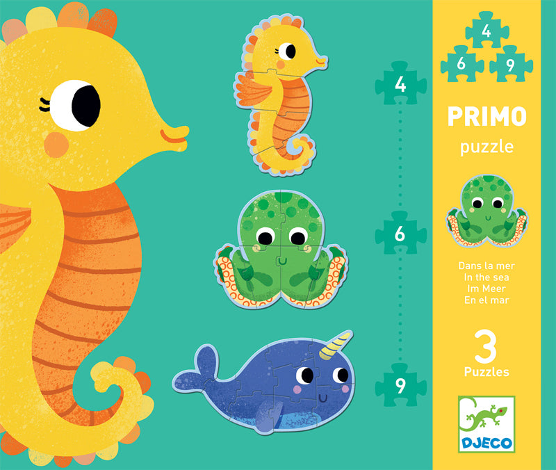 Djeco Primo Puzzle In the Sea