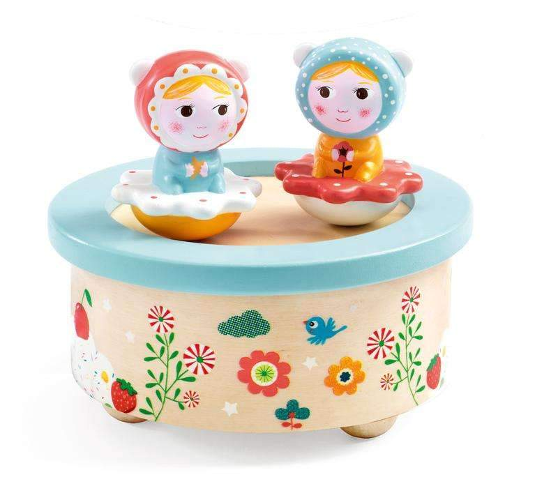 Djeco Magnetic Music Box - Baby Melody