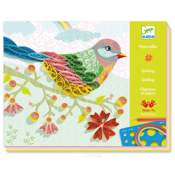 Djeco Quilling Activity Set at Little Sprout
