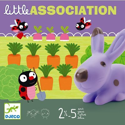 Djeco Little Association Game box