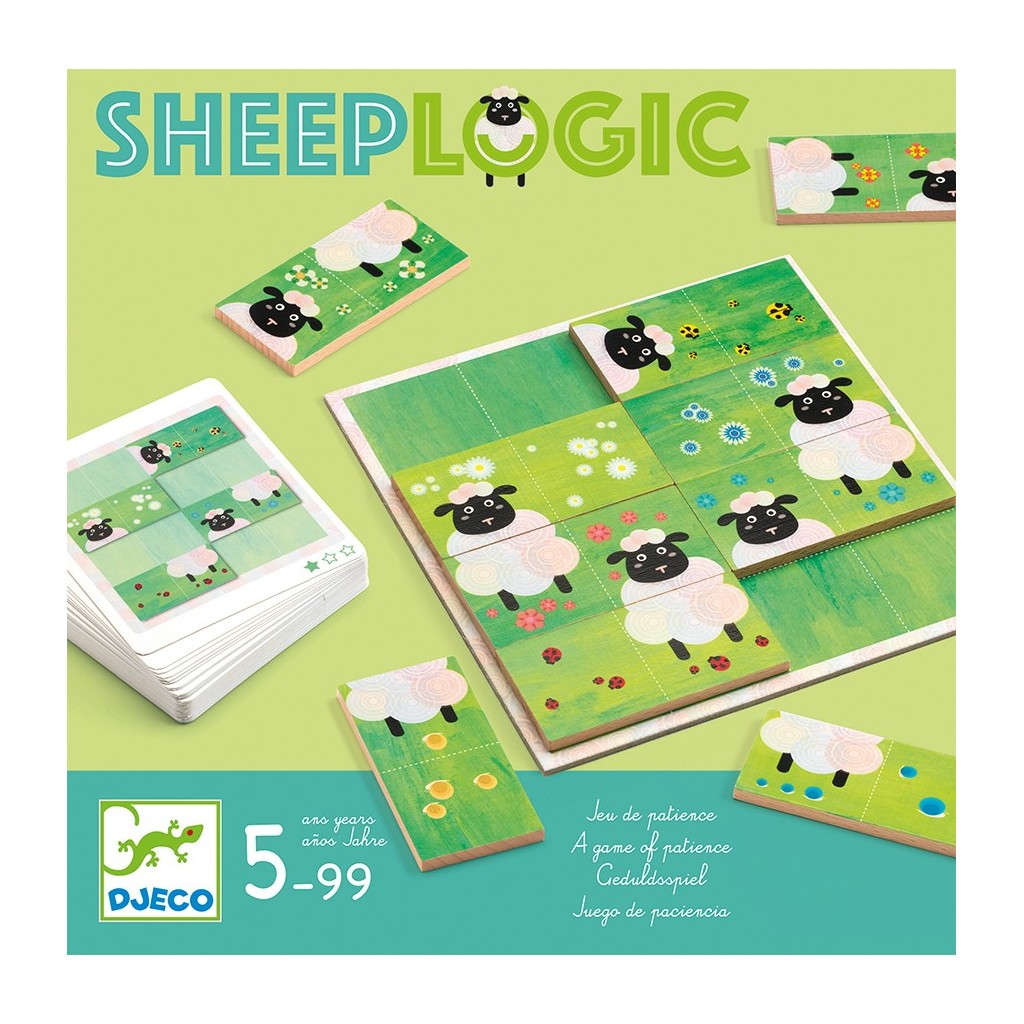 Djeco Sheep Logic Game at Little Sprout