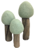 Papoose Earth Trees Summer 3 pieces