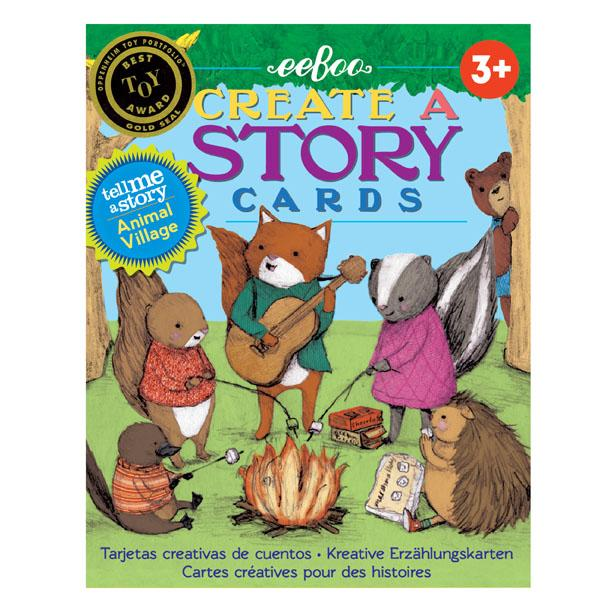 eeBoo Animal Village Create a Story Cards at Little Sprout