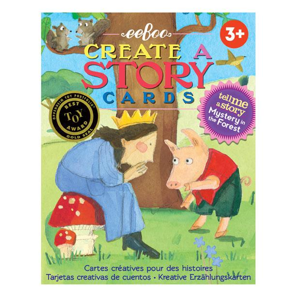 eeBoo Educational Create a Story Cards Mystery in the Forest