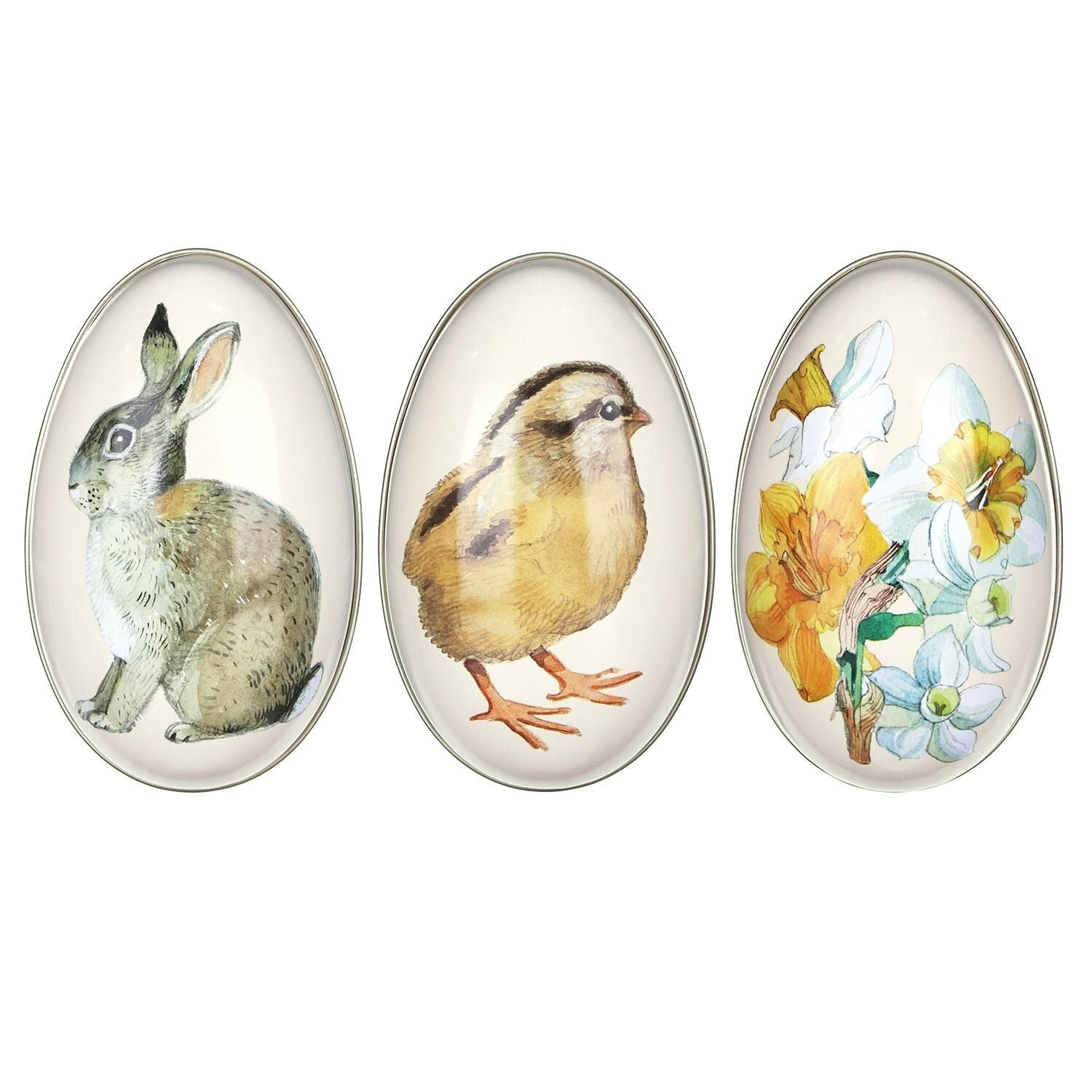 Emma Bridgewater Tin Egg - Flowers