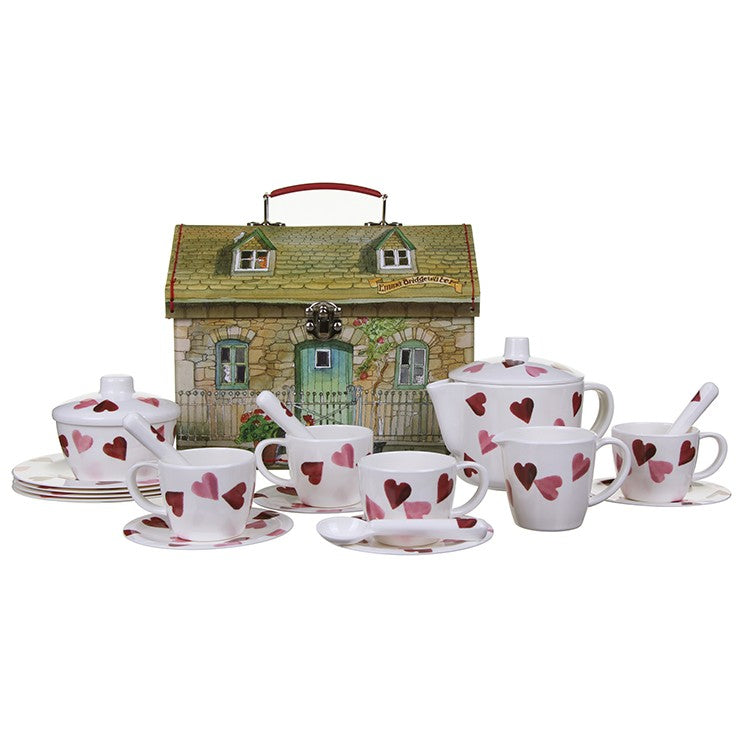 Emma Bridgewater Heart House Melamine Tea Set for children