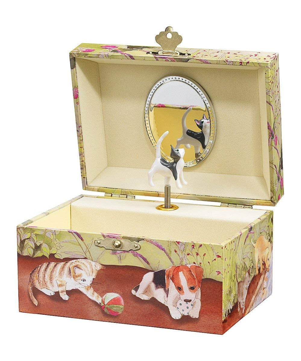 Enchantmints Playful Pets Jewellery Music Box at Little Sprout