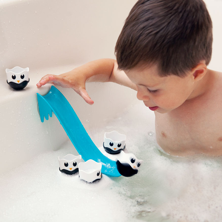 Fat Brain Waddle Bobblers bath and water toy available at Little Sprout