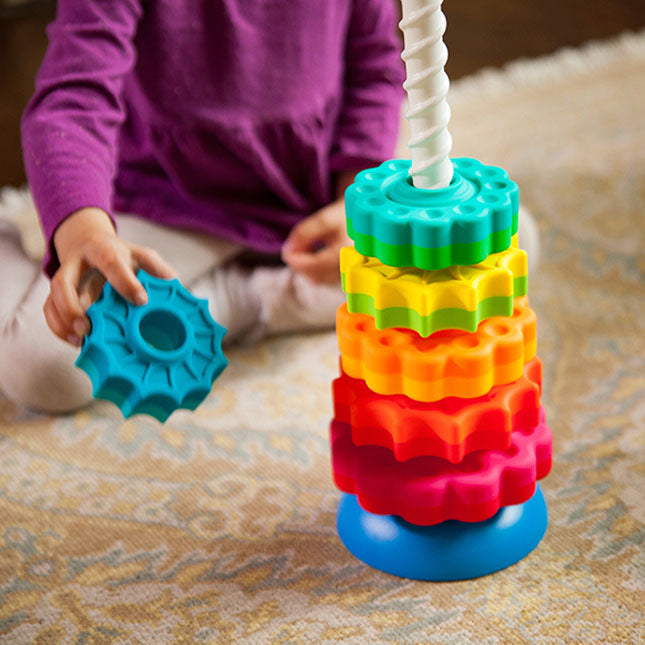 Fat Brain Toy Co Spin Again baby and toddler toy