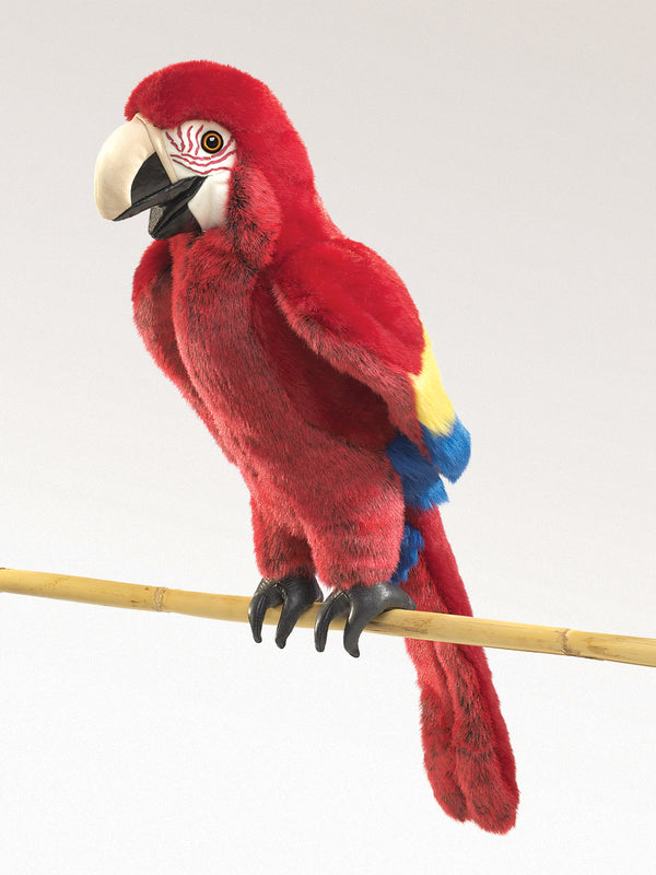 Folkmanis - Scarlet Macaw Puppet