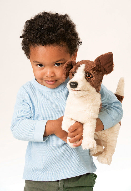 Folkmanis - Jack Russell Terrier Puppet
